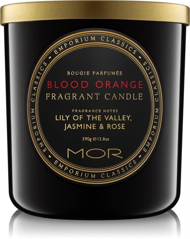 MOR Blood Orange Scented Candle 390 g