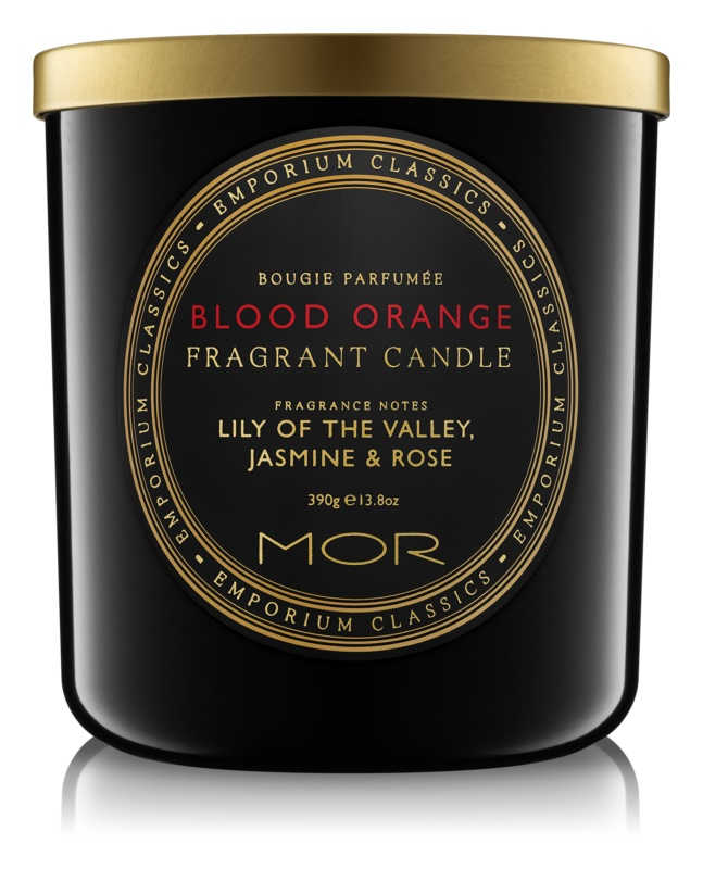 MOR Blood Orange vonná sviečka 390 g