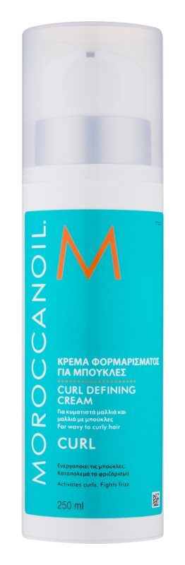 moroccanoil curl cr me pour cheveux boucl s ou permanent s. Black Bedroom Furniture Sets. Home Design Ideas
