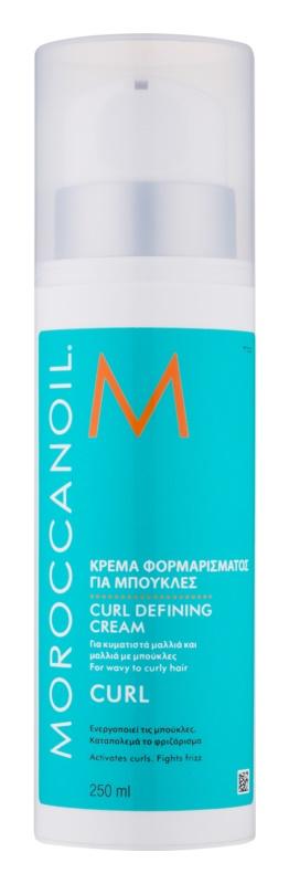 Moroccanoil Curl krema za valovite lase in lase s trajno ondulacijo