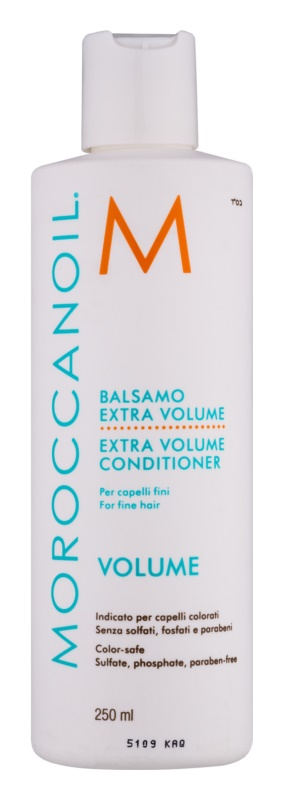 Moroccanoil Extra Volume objemový kondicionér pro jemné a zplihlé vlasy