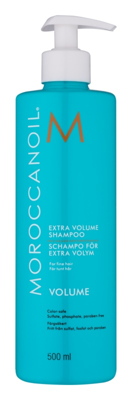 Moroccanoil Extra Volume champô para dar volume para cabelo fino