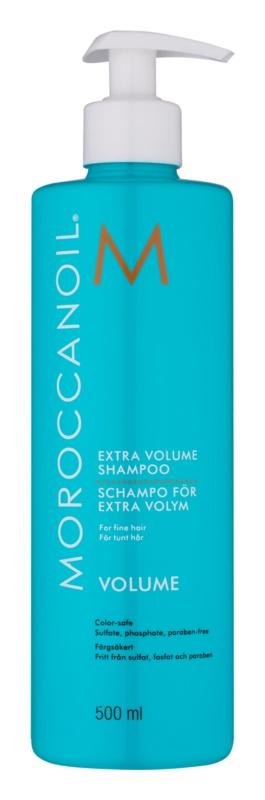 moroccanoil extra volume volumen shampoo f r feines haar. Black Bedroom Furniture Sets. Home Design Ideas
