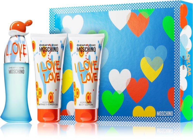 Moschino I Love Love Geschenkset VI.