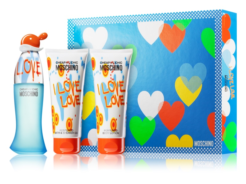 Moschino I Love Love σετ δώρου VI.