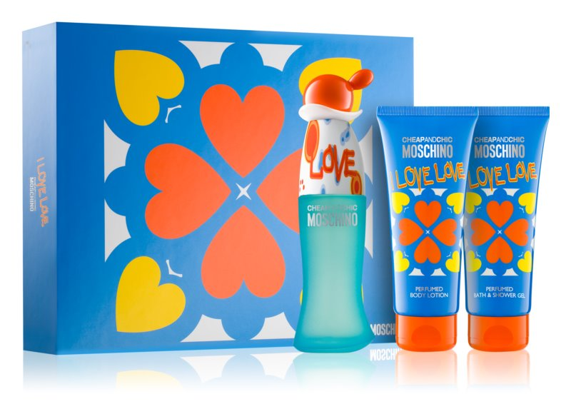 8d1d8b6bf4d06 Moschino I Love Love Gift Set III.