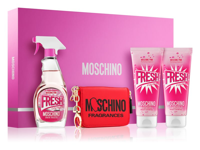 Moschino Fresh Couture Pink Gift Set  III.