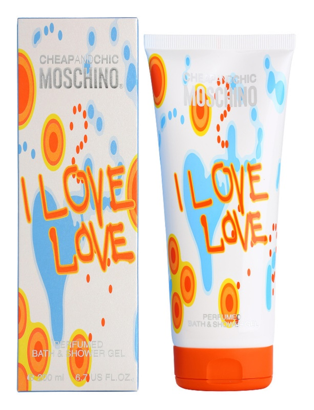 Moschino I Love Love Shower Gel for Women 200 ml