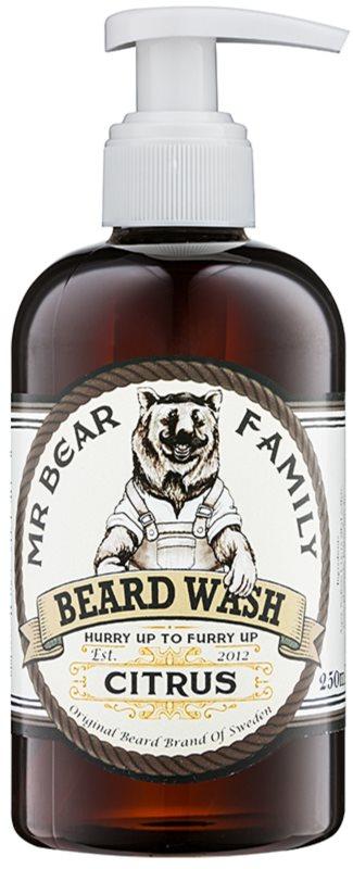 Mr Bear Family Citrus šampon za brado