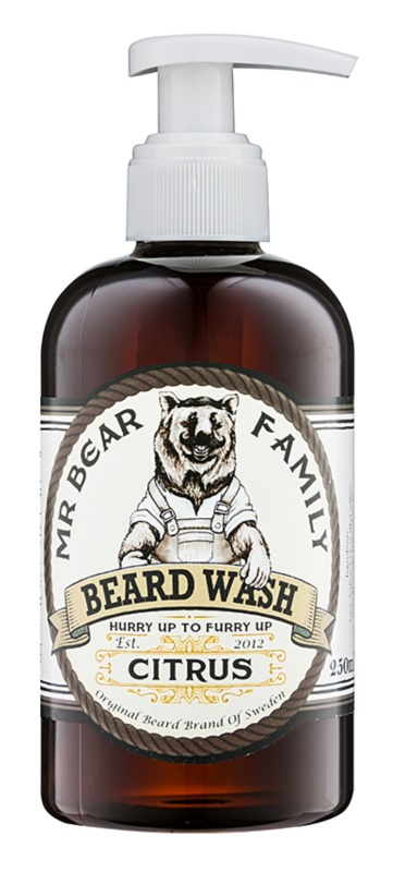 Mr Bear Family Citrus szampon do brody