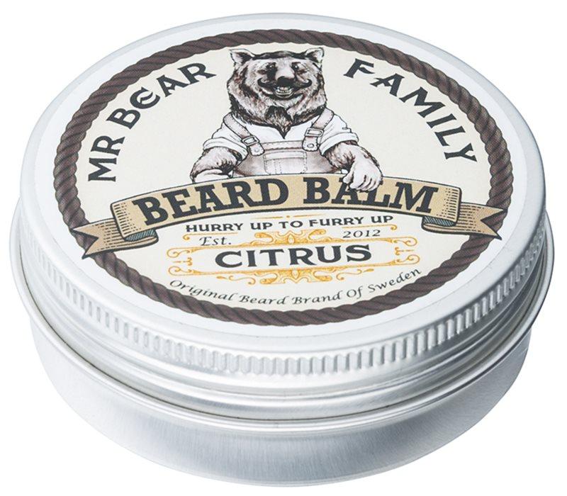Mr Bear Family Citrus balzám na vousy
