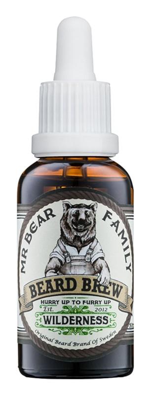 Mr Bear Family Wilderness olje za brado