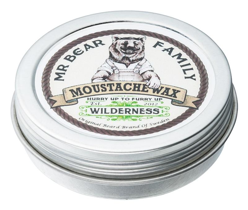Mr Bear Family Wilderness vosk na knír