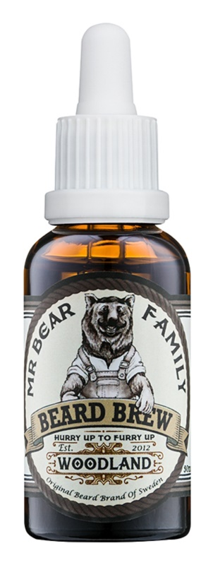 Mr Bear Family Woodland huile pour barbe