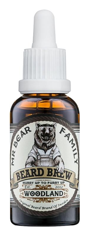 Mr Bear Family Woodland olej na vousy