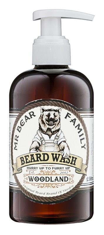 Mr Bear Family Woodland Bartshampoo