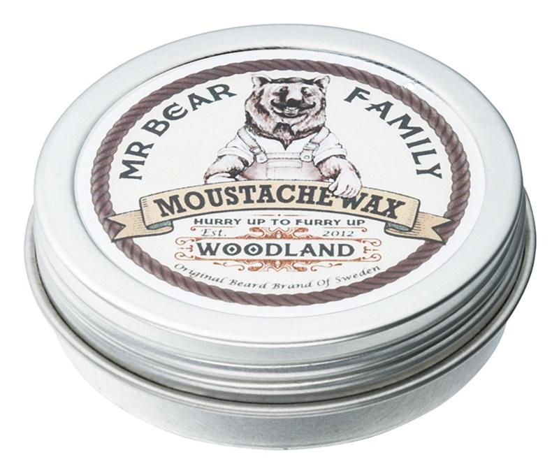 Mr Bear Family Woodland cera para bigote