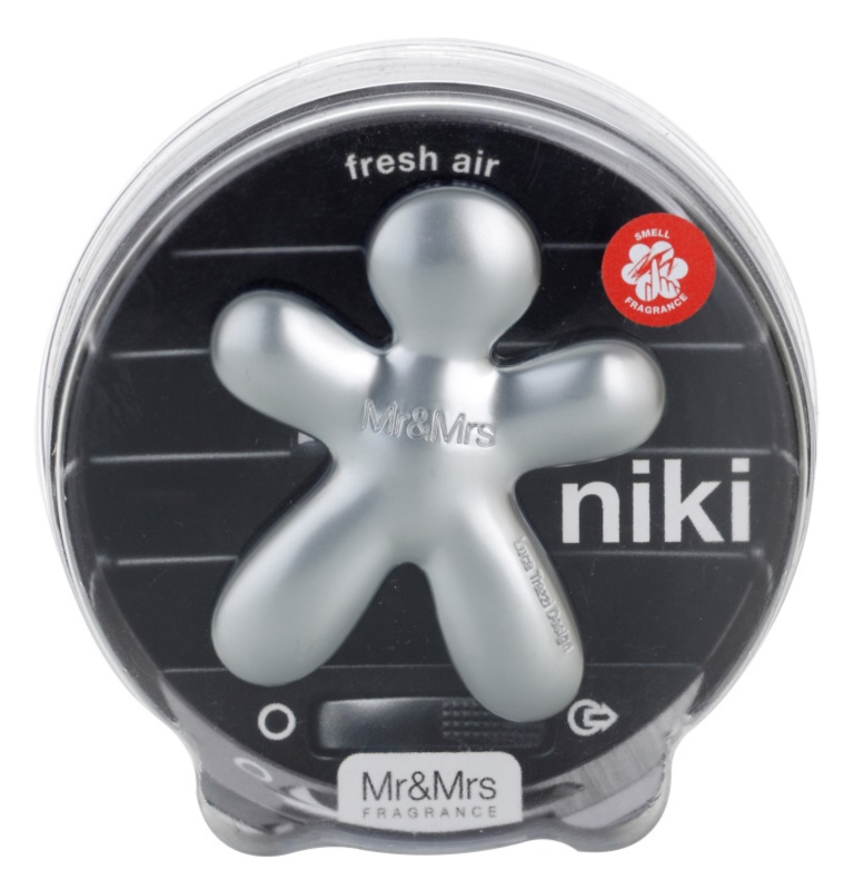 Mr & Mrs Fragrance Niki Fresh Air vůně do auta 1 cm plnitelná