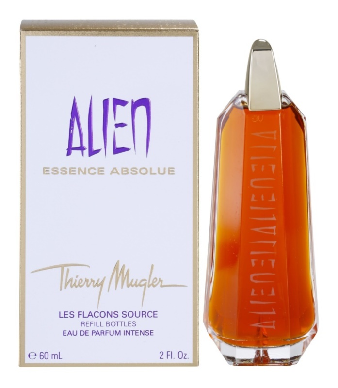 Mugler Alien Essence Absolue parfémovaná voda pro ženy 60 ml náplň
