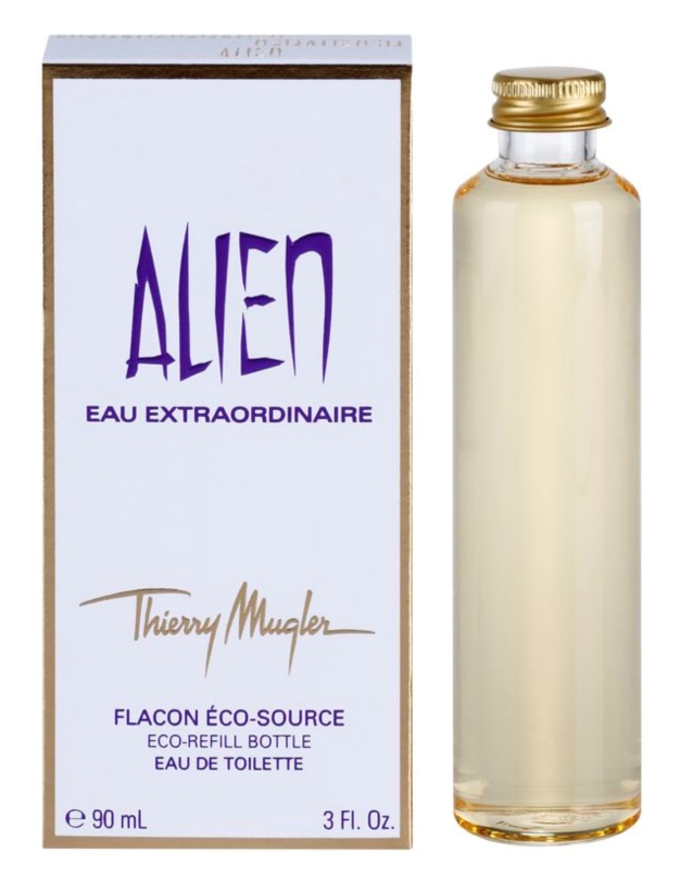 Mugler Alien Eau Extraordinaire toaletná voda pre ženy 90 ml náplň