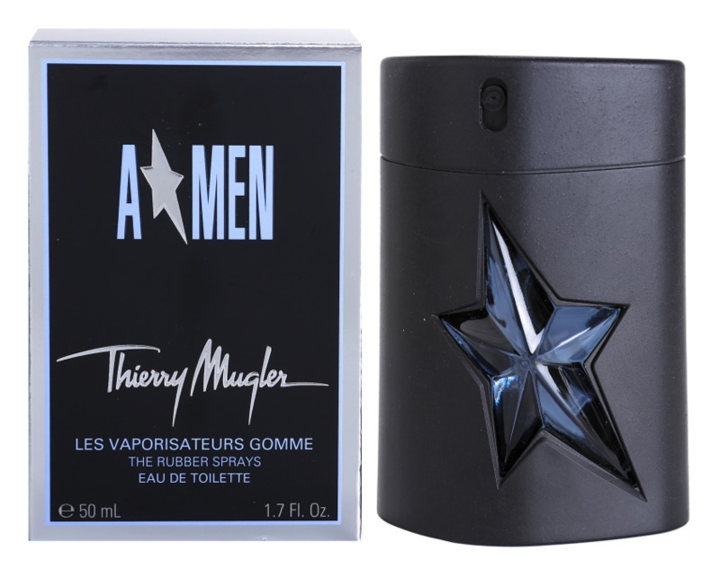 Mugler A*Men Eau de Toilette für Herren 50 ml  Rubber Flask