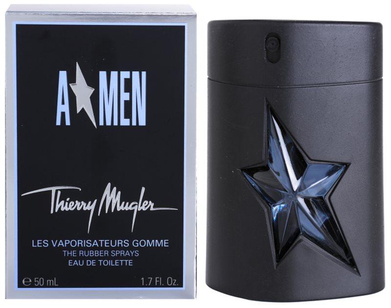 Mugler A*Men toaletní voda pro muže 50 ml  Rubber Flask