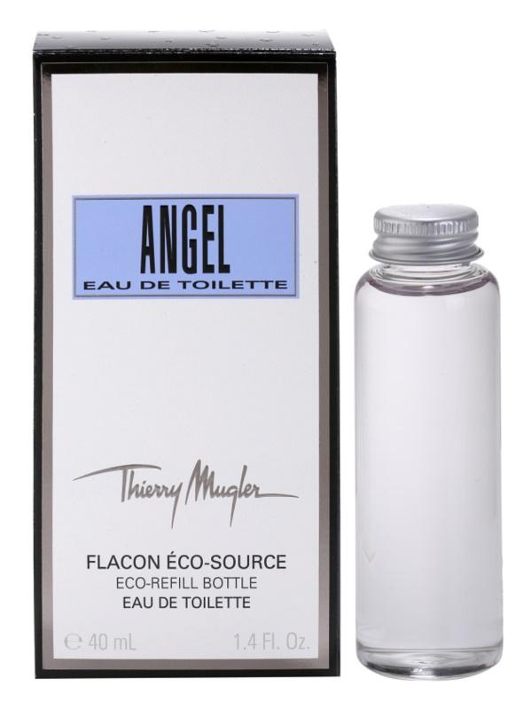 Mugler Angel Eau de Toilette Damen 40 ml Ersatzfüllung