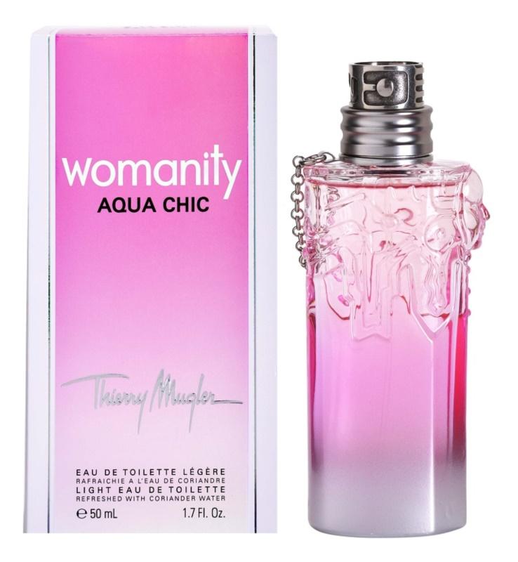 Mugler Womanity Aqua Chic 2013 Edition toaletná voda pre ženy 50 ml