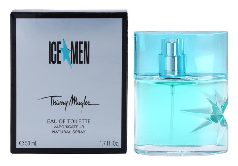 Mugler Ice Men Eau de Toilette para homens 50 ml