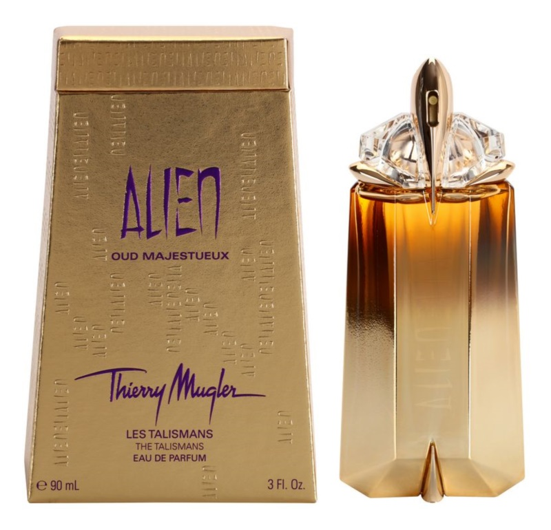Mugler Alien Oud Majestueux eau de parfum pentru femei 90 ml