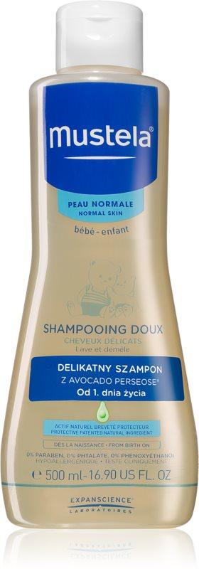 Mustela Bébé jemný šampon pro děti od narození