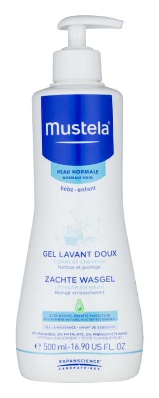 Mustela Bébé Bain gel pentru corp si par pentru copii