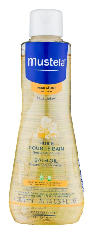 Mustela Bébé Dry Skin óleo de banho