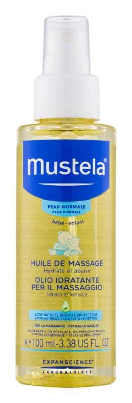 Mustela Bébé masážní olej pro děti od narození