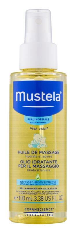 Mustela Bébé masážny olej pre deti od narodenia