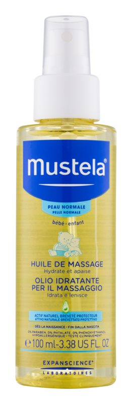 Mustela Bébé Massageöl für Kinder ab der Geburt