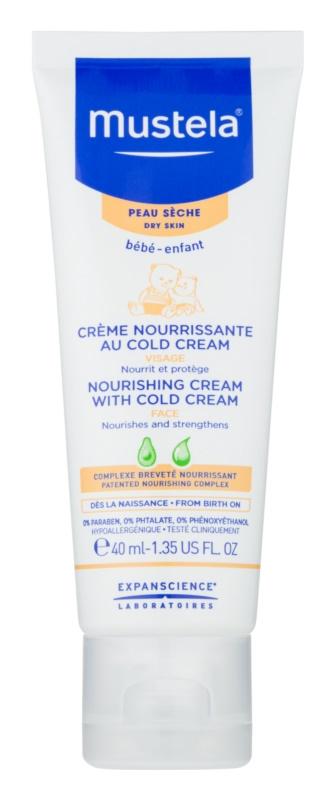 Mustela Bébé Cold Cream захисний поживний крем для дітей