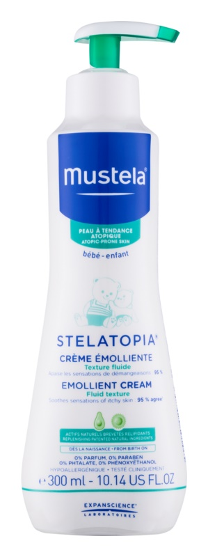 Mustela Bébé Stelatopia Emollient Cream for Children from Birth