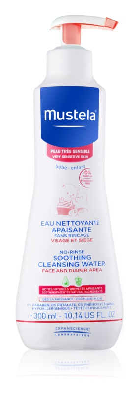 Mustela Bébé Soothing Cleansing Water for Children from Birth