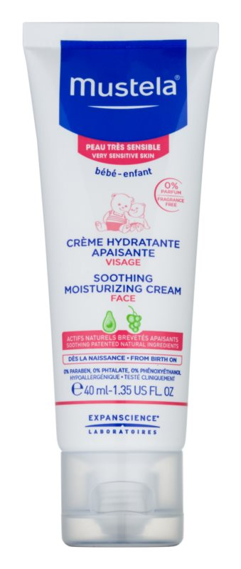 Mustela Bébé Soothing And Moisturizing Cream for Children from Birth