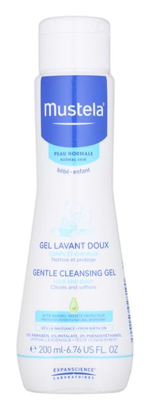 Mustela Bébé Bain gel limpiador para cuerpo y cabello para niños