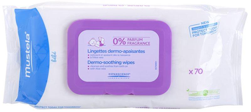 Mustela Bébé Change lingettes nettoyantes sans parfum