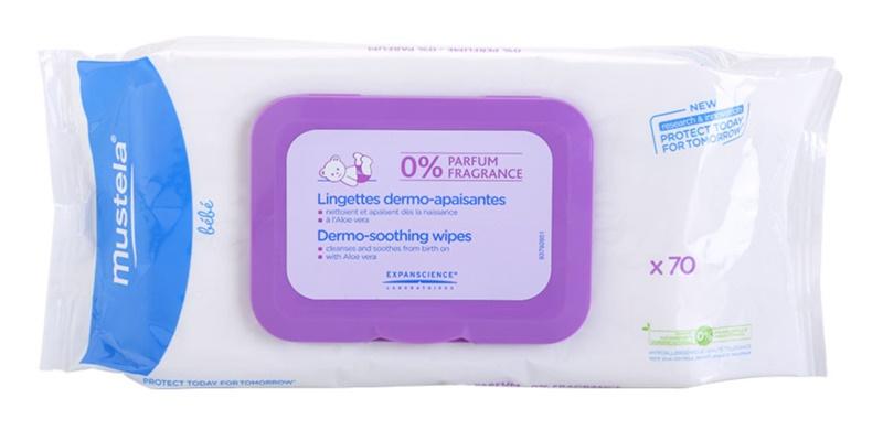 Mustela Bébé Change tisztító törlőkendő parfümmentes
