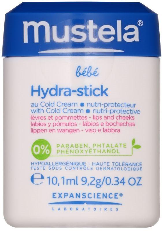 Mustela Bébé Hydra Stick ochranná hydratačná tyčinka pre deti