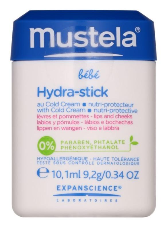 Mustela Bébé Hydra Stick ochranná hydratační tyčinka pro děti