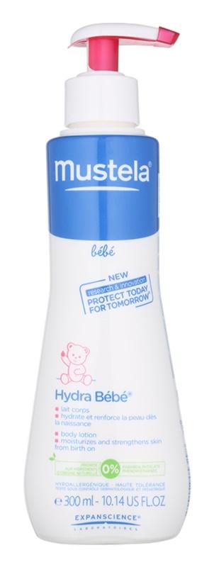 Mustela Bébé Soin leite corporal hidratante para crianças
