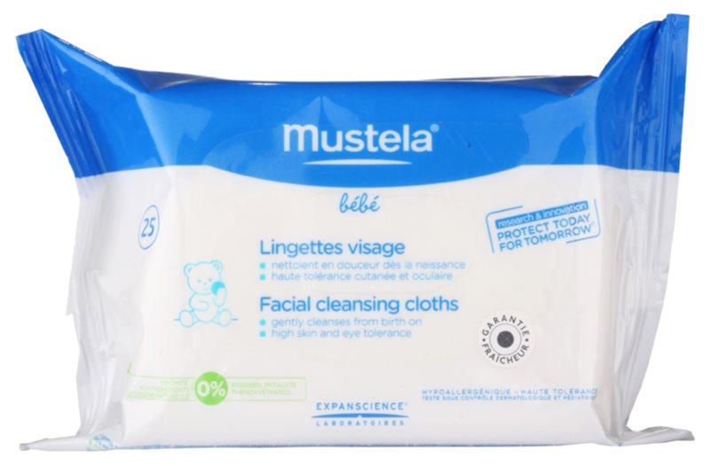 Mustela Bébé Toillete čistiace utierky na tvár