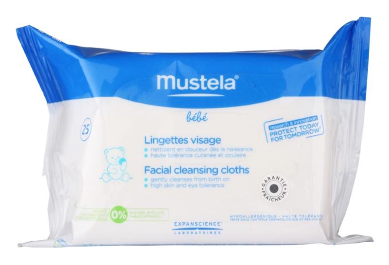 Mustela Bébé Toillete Facial Cleansing Cloths For Face