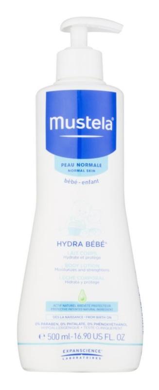 Mustela Bébé Hydra Bébé feuchtigkeitsspendende Körpermilch für Kinder ab der Geburt