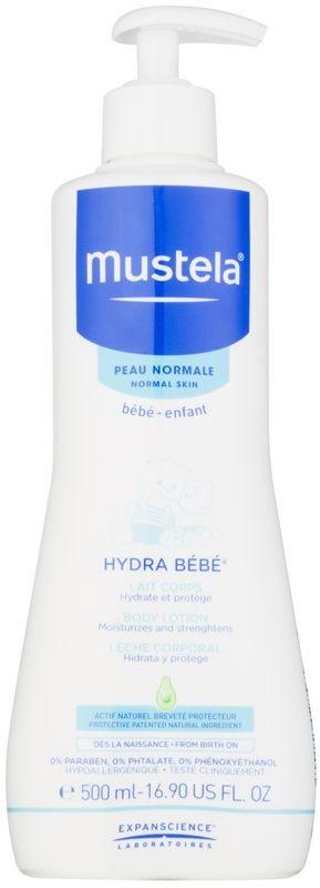 Mustela Bébé Hydra Bébé lotiune de corp hidratanta pentru nou-nascuti si copii